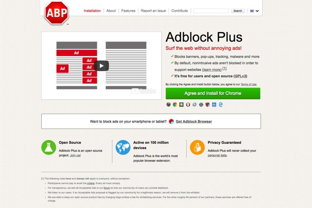 Adblock Plus - bloqueur de publicités gratuit - Chrome Web