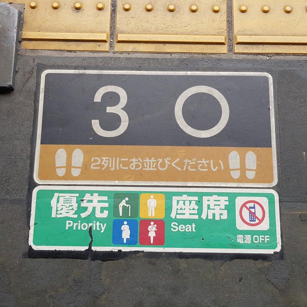 การใช้สัญลักษณ์ในสถานีรถไฟ