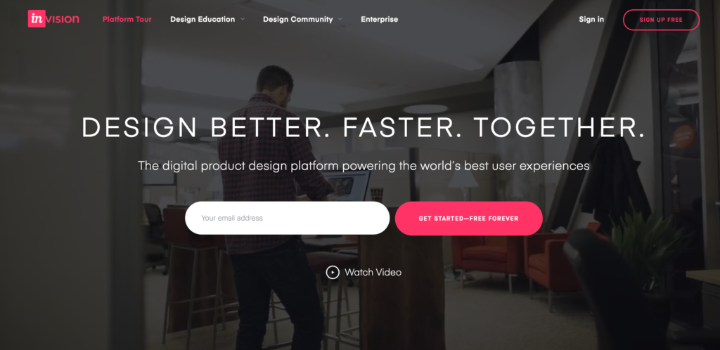 invisionapp-cta-ออกแบบหน้าเว็บไซต์-landing-page
