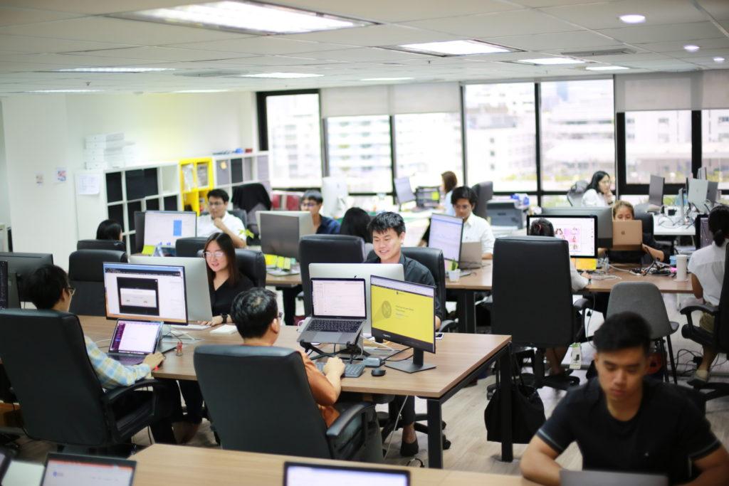 หางาน Digital Marketing ดูบรรยากาศที่ทำงาน