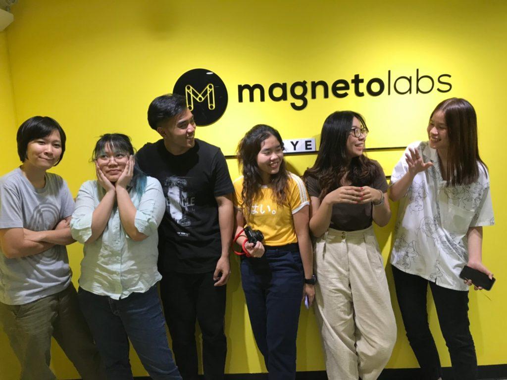 น้องๆ นักศึกษาฝึกงาน Magnetolabs 2019