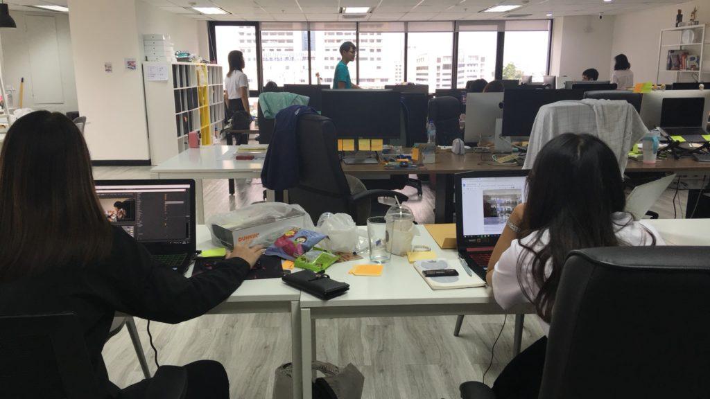 นักศึกษาฝึกงาน ทำงานกันอย่างตั้งใจที่ Magnetolabs