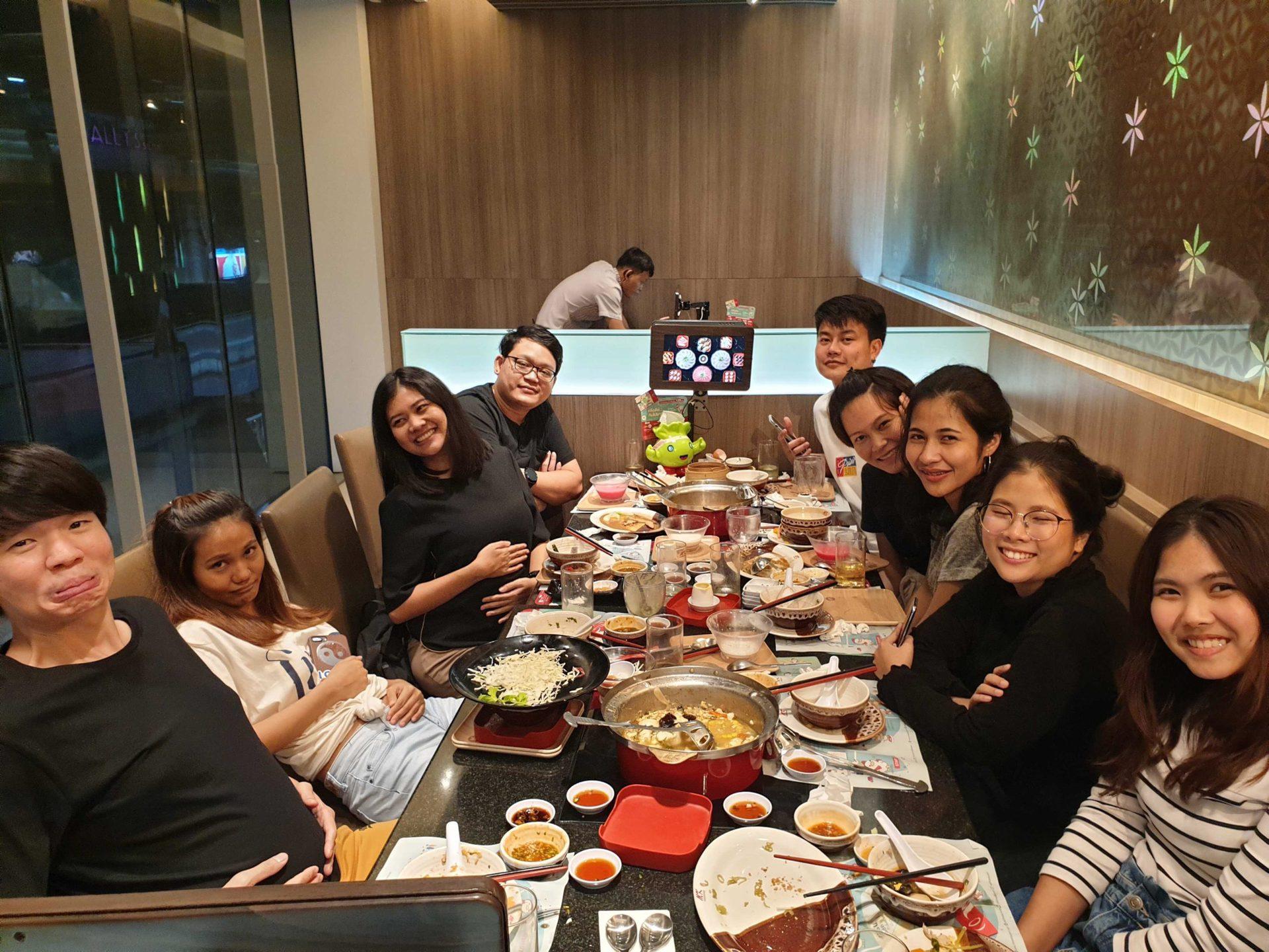 Company Dinner at MK