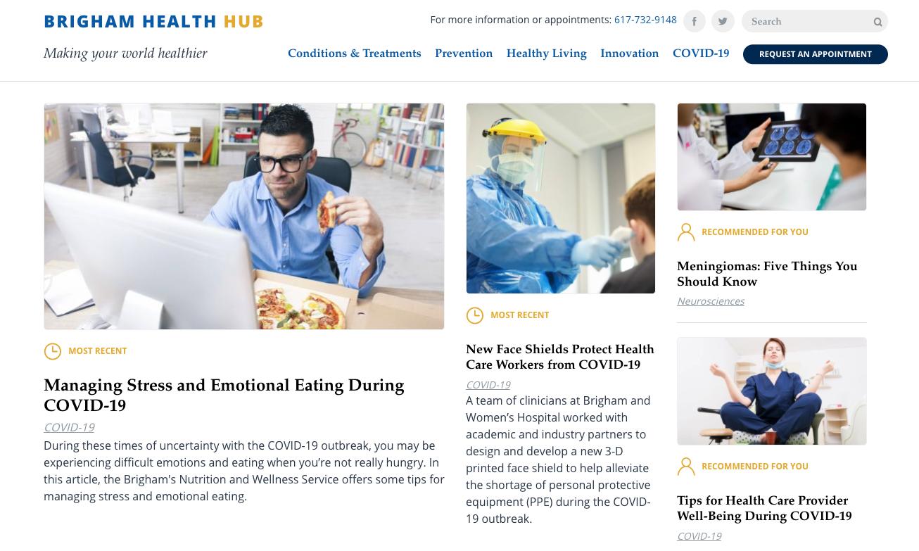 Brigham Health Hub
