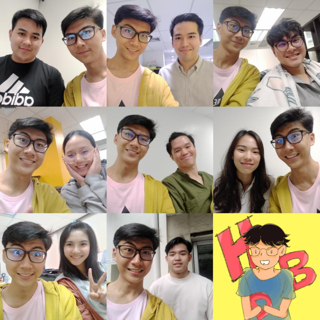 selfie-internship